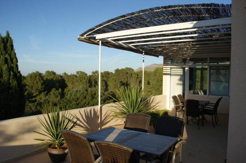 Dachterrasse mit Wintergarten / roof terrace with conservatory