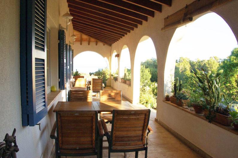 Terrasse Meerblick / terrace sea view